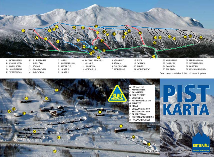 kittelfjäll karta Kittelfjäll | Skidinfo.se – Skidresor, nyheter om svenska fjällen  kittelfjäll karta